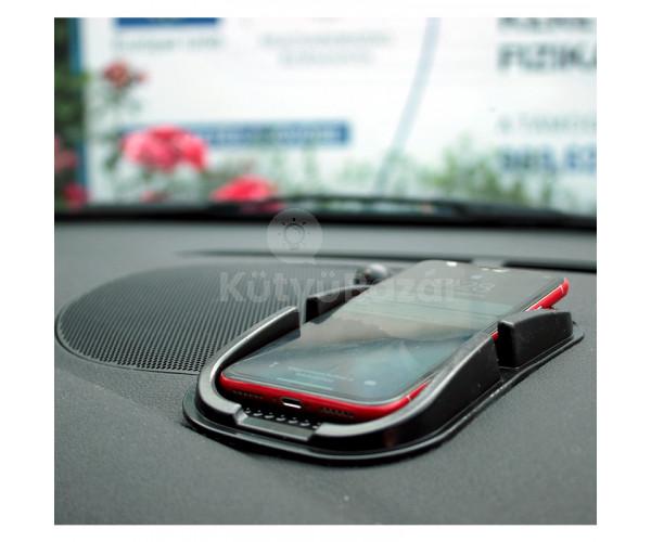 Csúszásmentes autós mobil tartó