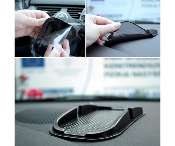 Csúszásmentes autós univerzális telefontartó, tablet tartó mobil tartó, nanopad, csúszásgátló műszerfalra