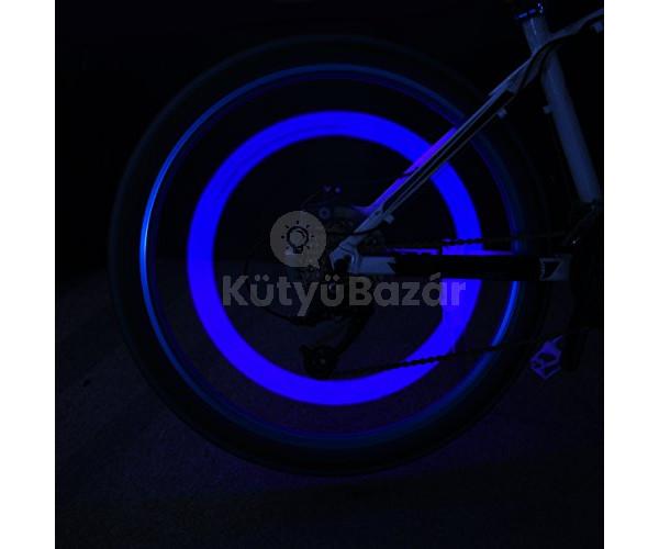 Kerékpár villogó kerékpár lámpa küllővilágítás