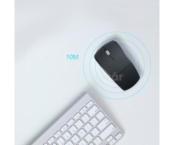 Összecsukható vezeték nélküli lézeres egér wireless egér