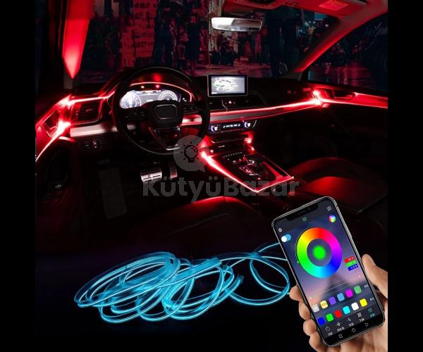 Autós beltéri LED világítás (APP vezérléssel)