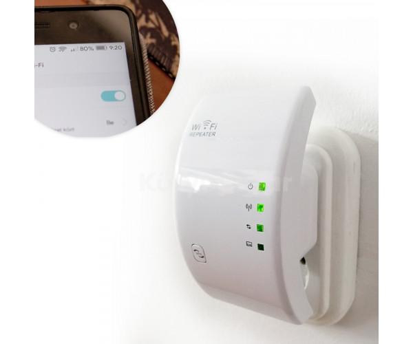 WLAN WIFI repeater, Wifi jelerősitő jelismétlő konnektorba
