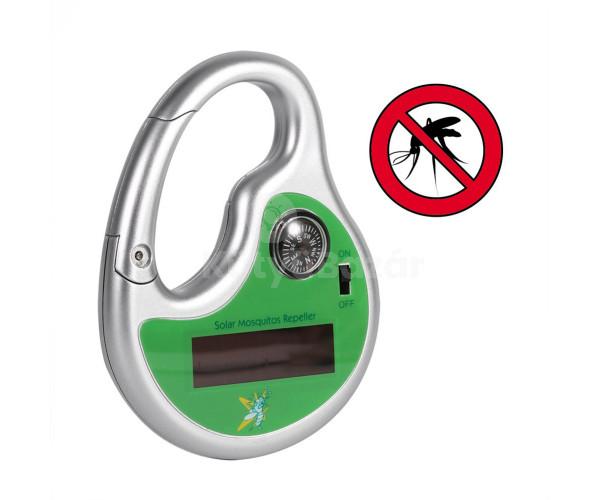 Szúnyogriasztó (hordozható, napelemes)