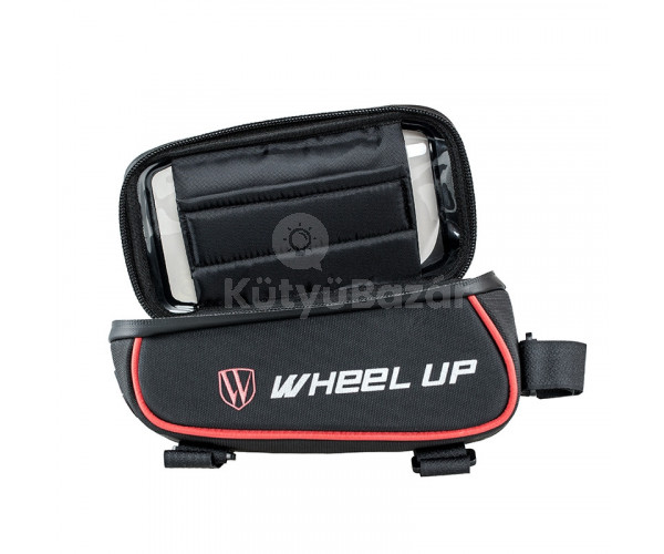 Vízálló biciklis smartphone táska
