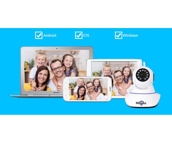 Hiseeu FH1 HD WiFi-s Smart megfigyelőkamera