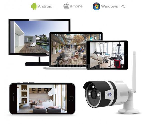 Hiseeu kül- és beltéri wifi IP kamera