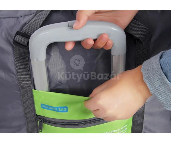 Kézipoggyász méretű, összehajtható táska