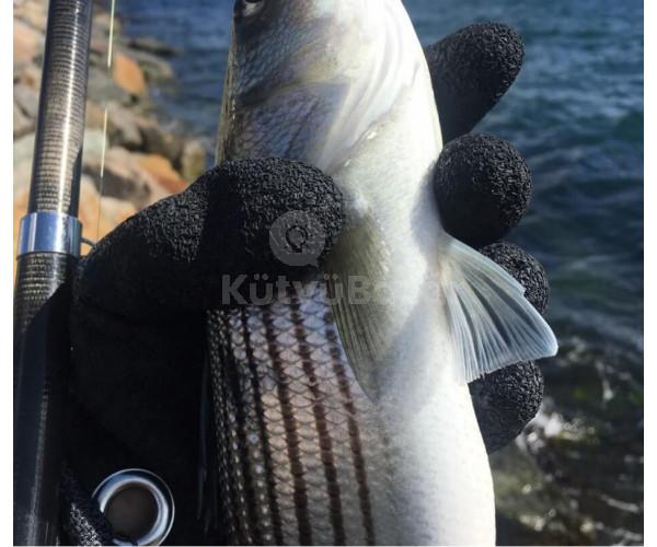Csúszásmentes horgászkesztyű