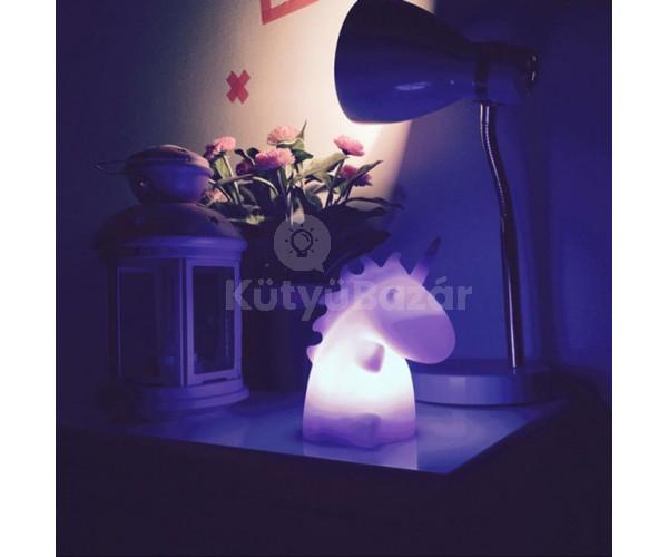 Aranyos unikornis lámpa