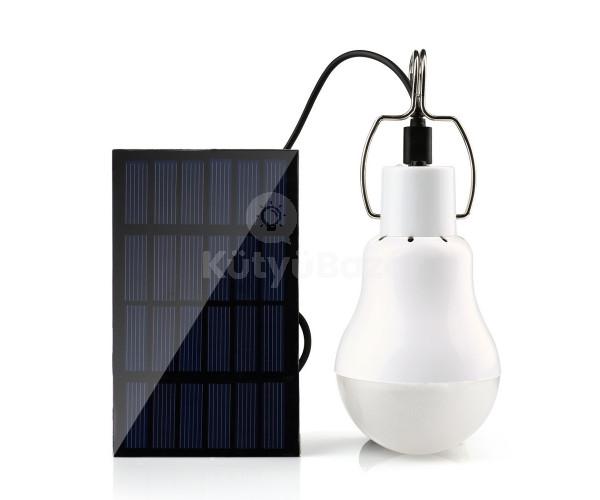 Napelemes lámpa, kemping lámpa, sátorlámpa, hordozható led lámpa