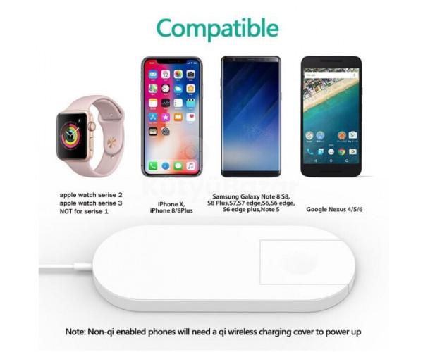 Iphone és Apple Watch gyorstöltő
