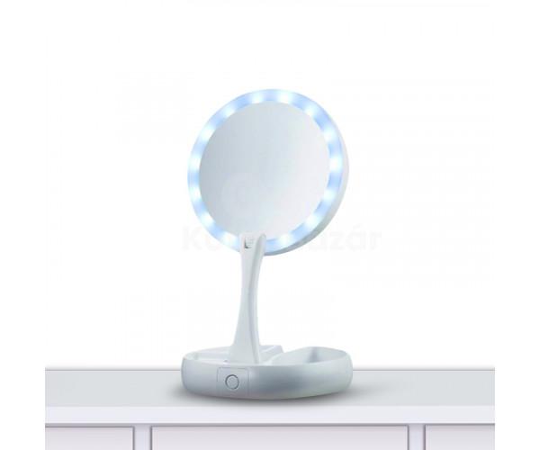 LED-es sminktükör
