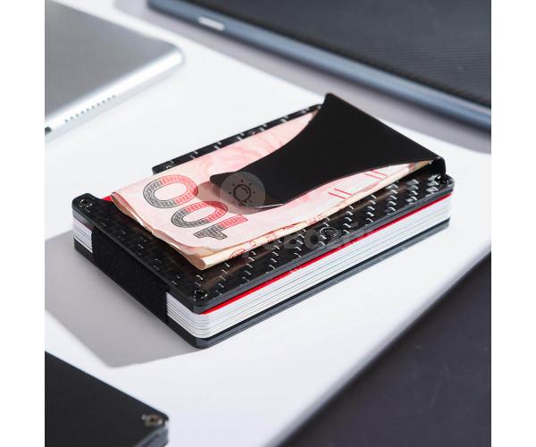 Elegáns, vékony bankkártya/pénz tartó