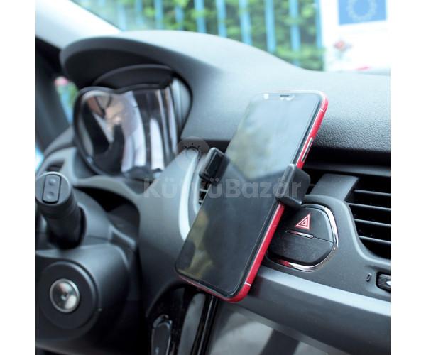 Univerzális autó ventilátor rácsra tehető mobiltartó