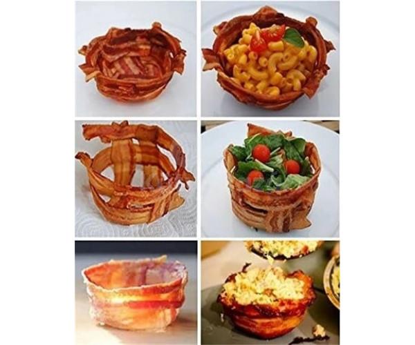 Bacon sütőforma (2 db)