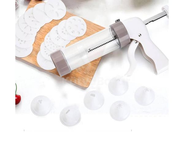 Teasütemény készítő, kekszkinyomó készlet (20 db)