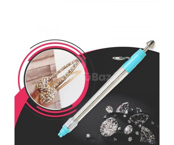 Dekorációs készlet, 2000 DB díszítő Strasszkő ragasztó tollal