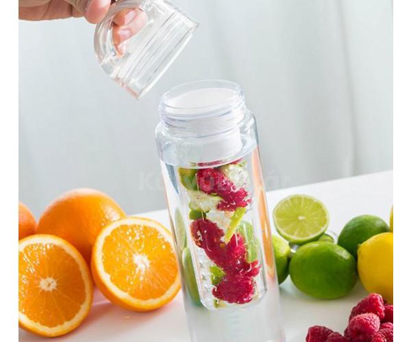 Gyümölcs infúziós kulacs, infuser palack