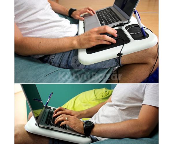 laptop notebook asztal hűtőpaddal laptop hűtő