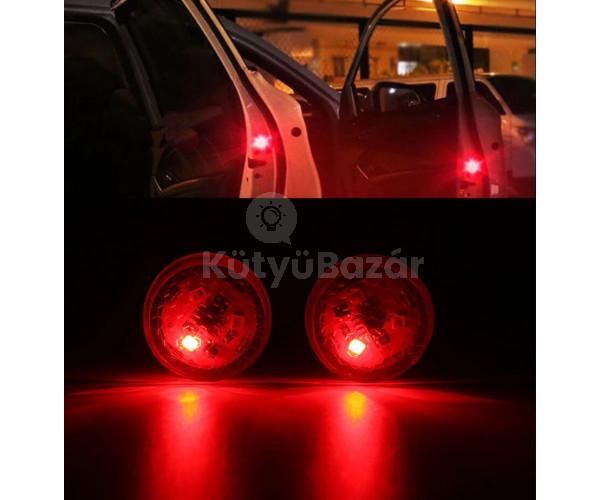 2 db Autóajtó LED figyelmeztető lámpa