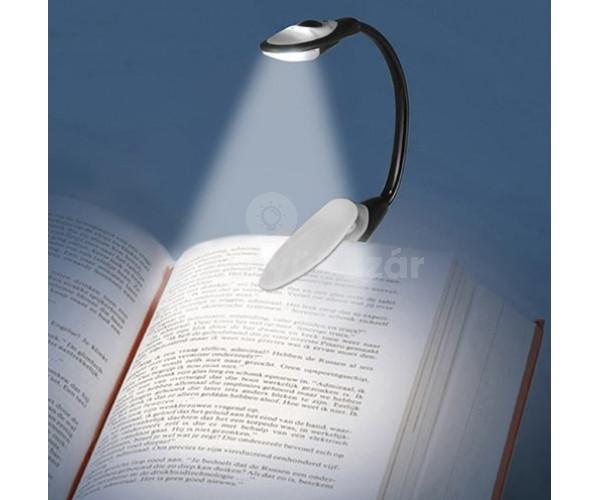 Csiptetős LED Olvasólámpa