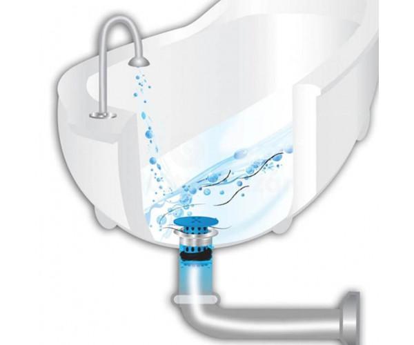 Fürdőszobai/konyhai lefolyószűrő