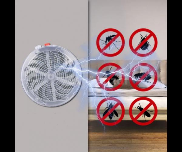 Napelemes szúnyogriasztó lámpa