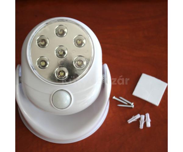 Mozgásérzékelős LED lámpa reflektor