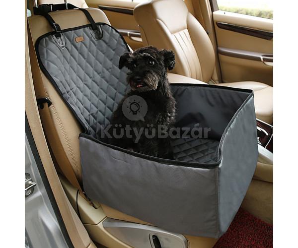 Autós kutyaülés (víz- és portaszító anyagból)