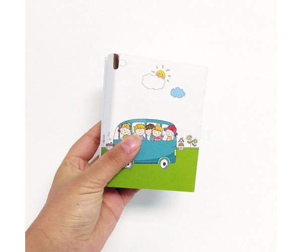 Összehajtható papír bili gyerekeknek