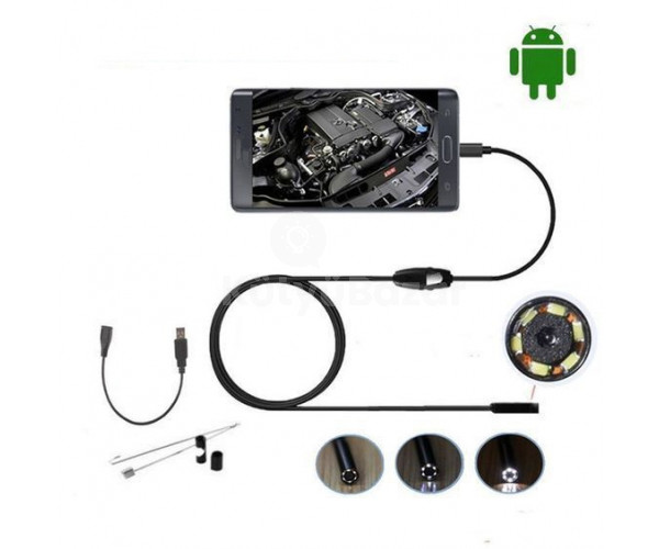 1 méteres vízálló Android endoszkóp kamera