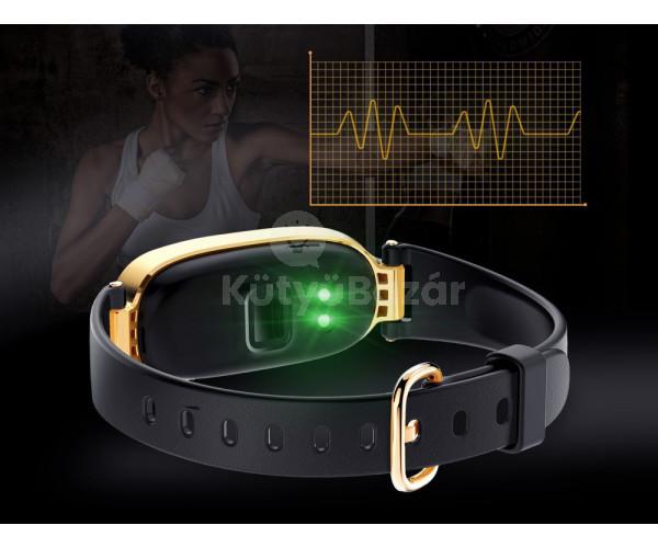 Női pulzusmérő okosóra