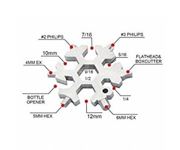 Multifunkciós szerszám (15 az 1-ben)