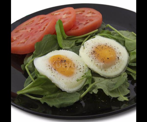 Szilikon tojássütő/főző forma 2 db