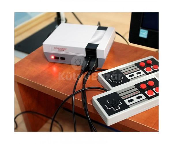 Retro játékkonzol (hálózati adapterrel)