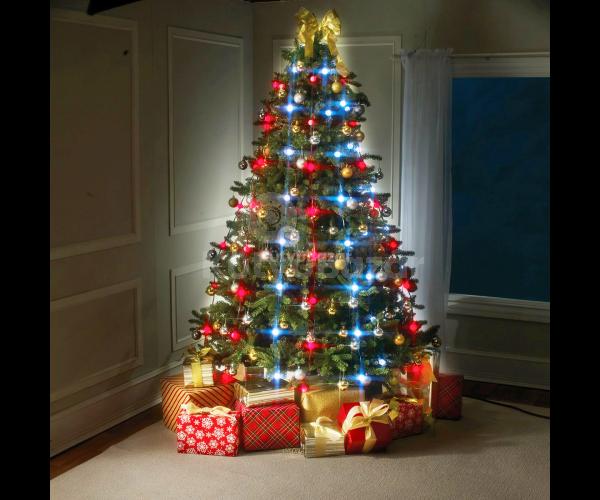 Karácsonyi világítás, karácsonyi fényfüzér