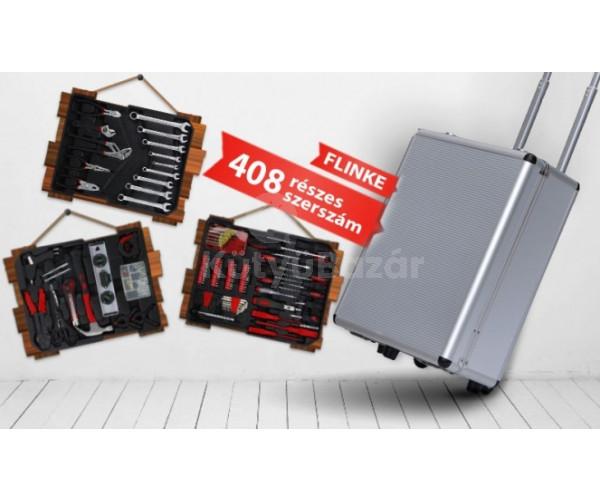 408 részes szerszámkészlet bőrönddel