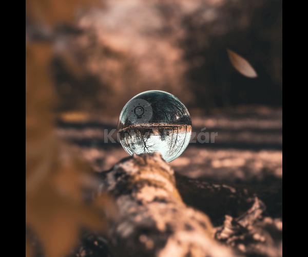 Fotógömb, fotós üveggömb