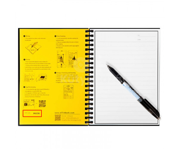 Elfinbook - Az újrahasználható füzet