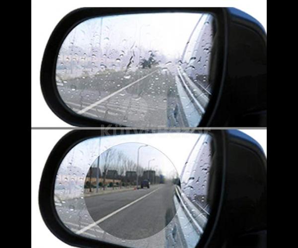 Visszapillantó tükörre vízlepergető fólia