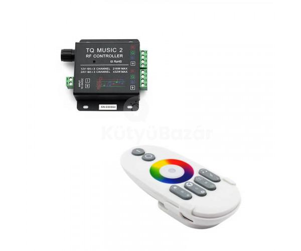 Hangérzékelős RGB led szalag vezérlő  de3fb68bbf