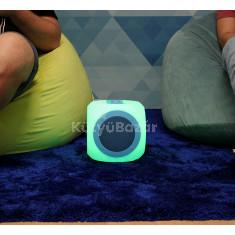MNC Chill Cube Világító Bluetooth hangszóró