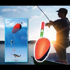 Professzionális, világító úszó horgászathoz