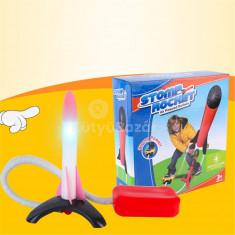 Lábbal indítható rakétakilövő gyerekeknek