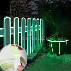 Fluoreszkáló dekorációs szalag, Fénylő biztonsági szalag
