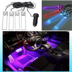 Szivargyújtóról működő színváltós belső világítás autóba