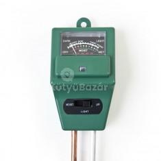 Analóg talaj pH és nedvességmérő talajnedvesség mérő
