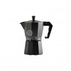 Kotyogós kávéfőző -6 személyes fekete