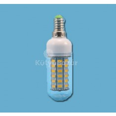 LED izzó 56 ledes E14 foglalattal