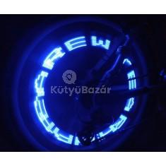 LEDes küllőmonitor biciklire